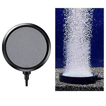Disco de Burbuja para Acuario Tanque de Peces,1Pc 10.7CM Disco de Burbuja Oxígeno Bomba ...