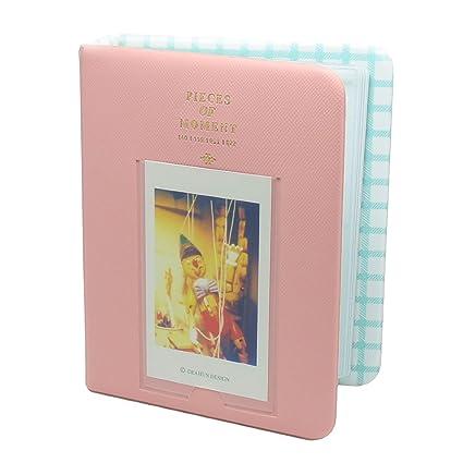 Amazoncom Fuji Instax Mini Photo Album Caiul Pieces Of Moment