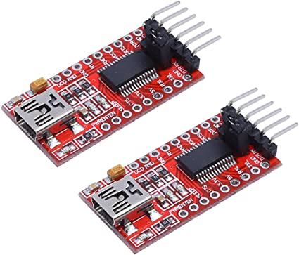 RS232 To TTL Converter Module Serial Module DB9 Connector 3.3V-5.5V Arduino TCA