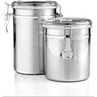 2-Pack Martha Stewart Collection Essentials Food Storage Canisters