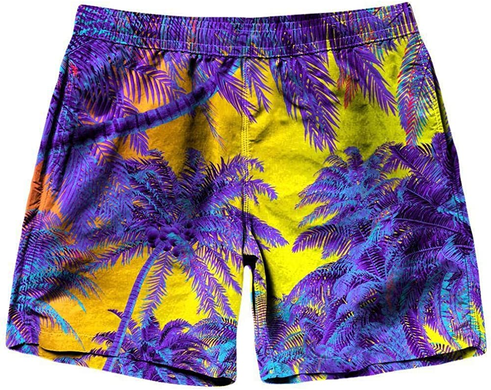 On Cue Apparel Polychrome Jungle Shorts