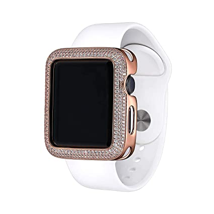 Amazon.com: SKYB 14K Rose Gold Plated Bronze Triple Halo ...