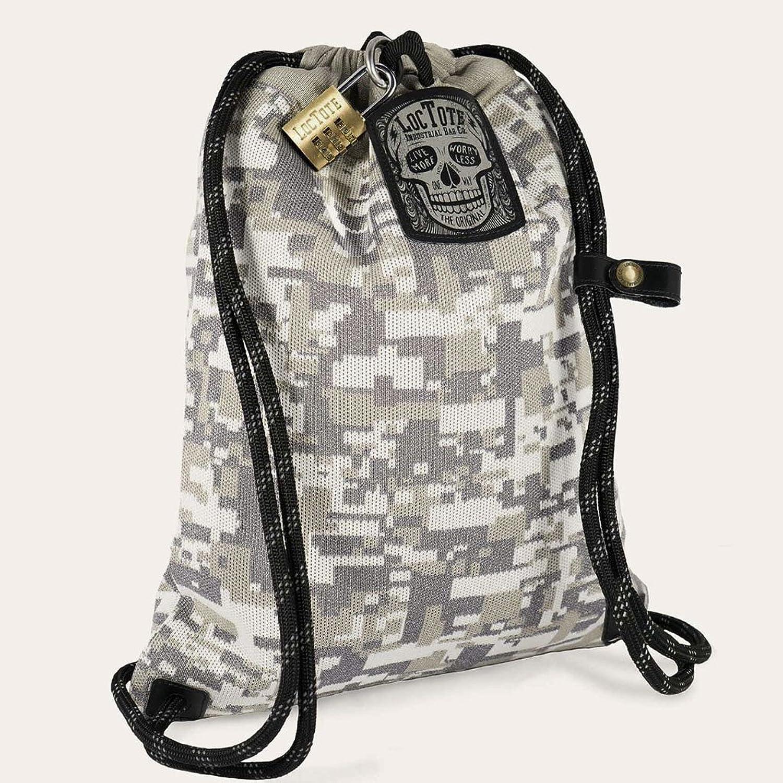 LOCTOTE Flak Sack COALITION - 最も悪い盗難防止バッグ  盗難防止  ロック可能  スラッシュプルーフ  暗闇で光る B07813N1H3