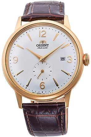 Orient Reloj Analógico para Hombre de Automático con Correa en Cuero RA-AP0004S10B: Amazon.es: Relojes