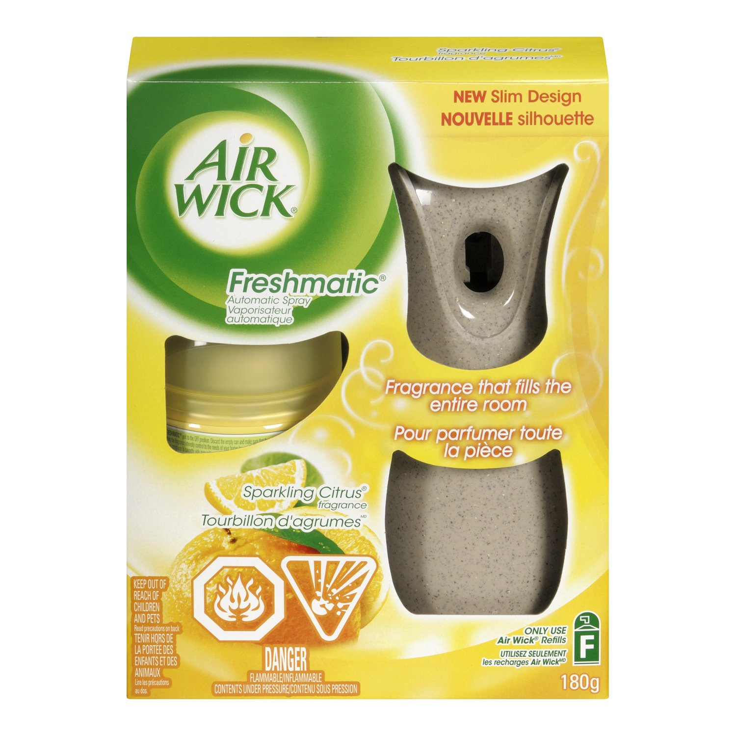 Air Wick Freshmatic Air Freshener, Automatic Spray Refills, Fresh Waters, 3 Refills Manufacturer