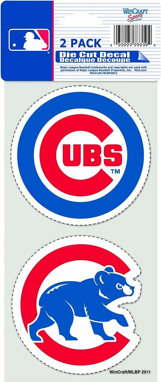 """MLB 2-Piece Die-Cut Decal, 4"""" x 8"""""""