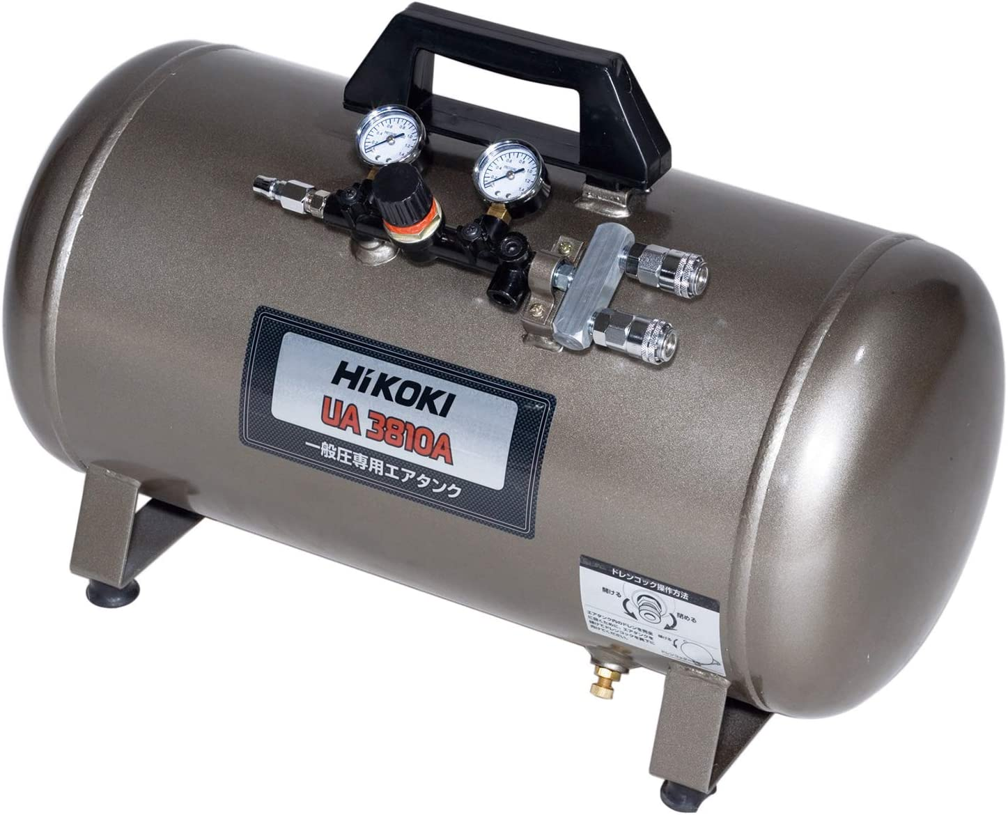 HiKOKI エアタンク 補助タンク 一般圧専用 38L