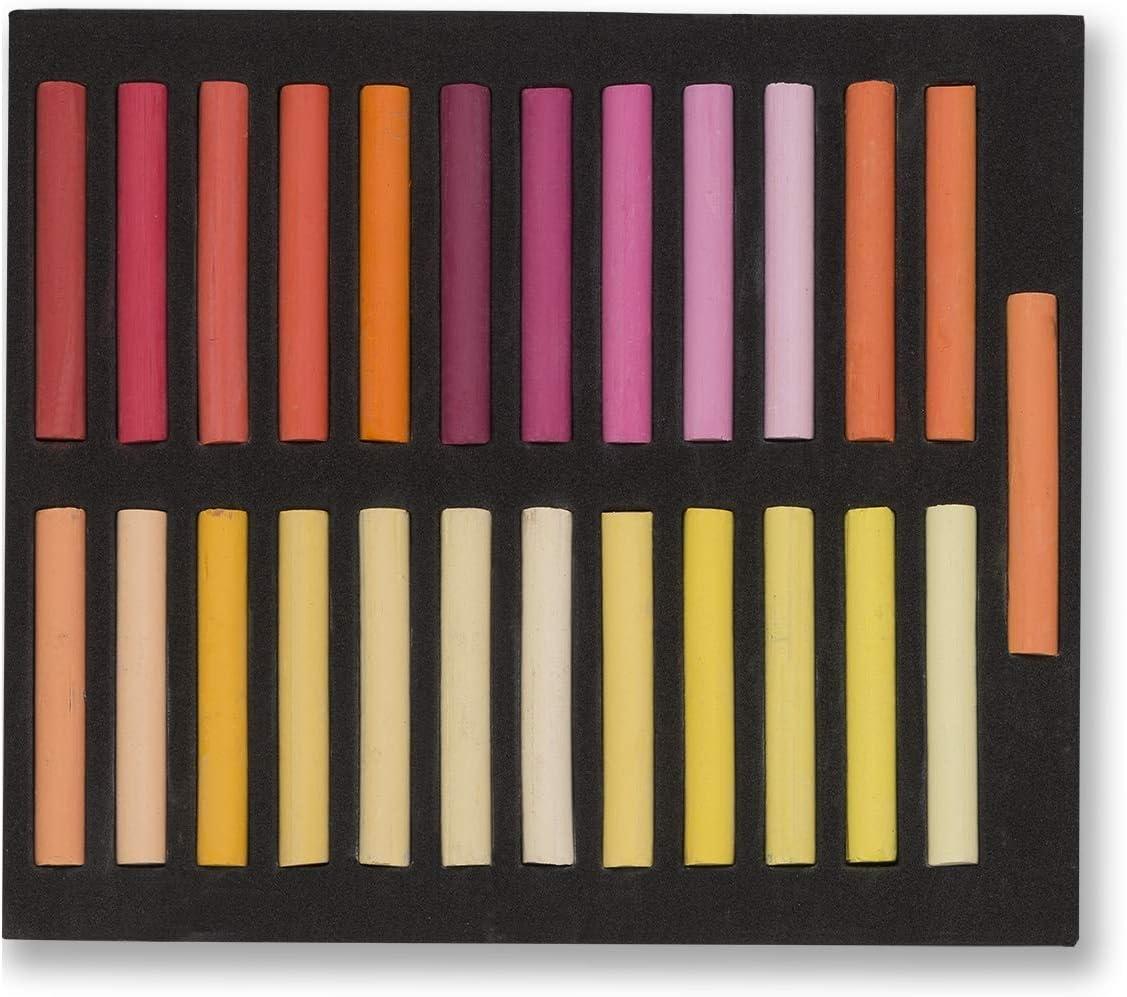 Pastellkreide lot de 50 pastels maries kaltt/öne b