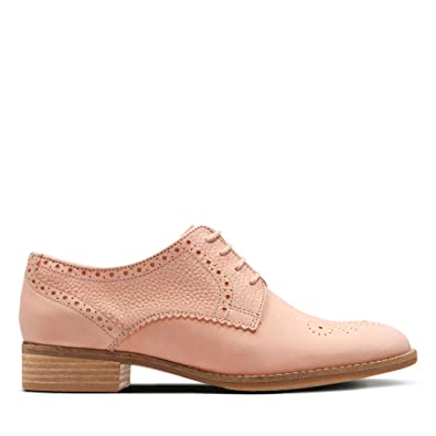 9237c33af6b Clarks Netley Rose Nubuck Shoes in Pink Combi  Amazon.co.uk  Shoes ...