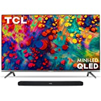 """TCL 65"""" TV & Alto 8i Sound Bar"""