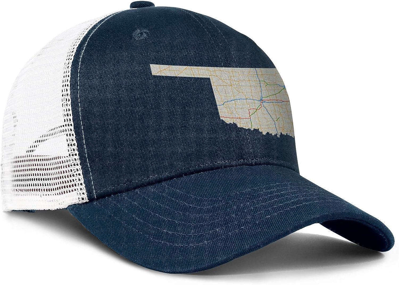 Route 62 in Oklahoma Men//Women Best Sports Hat Baseball Caps U.S