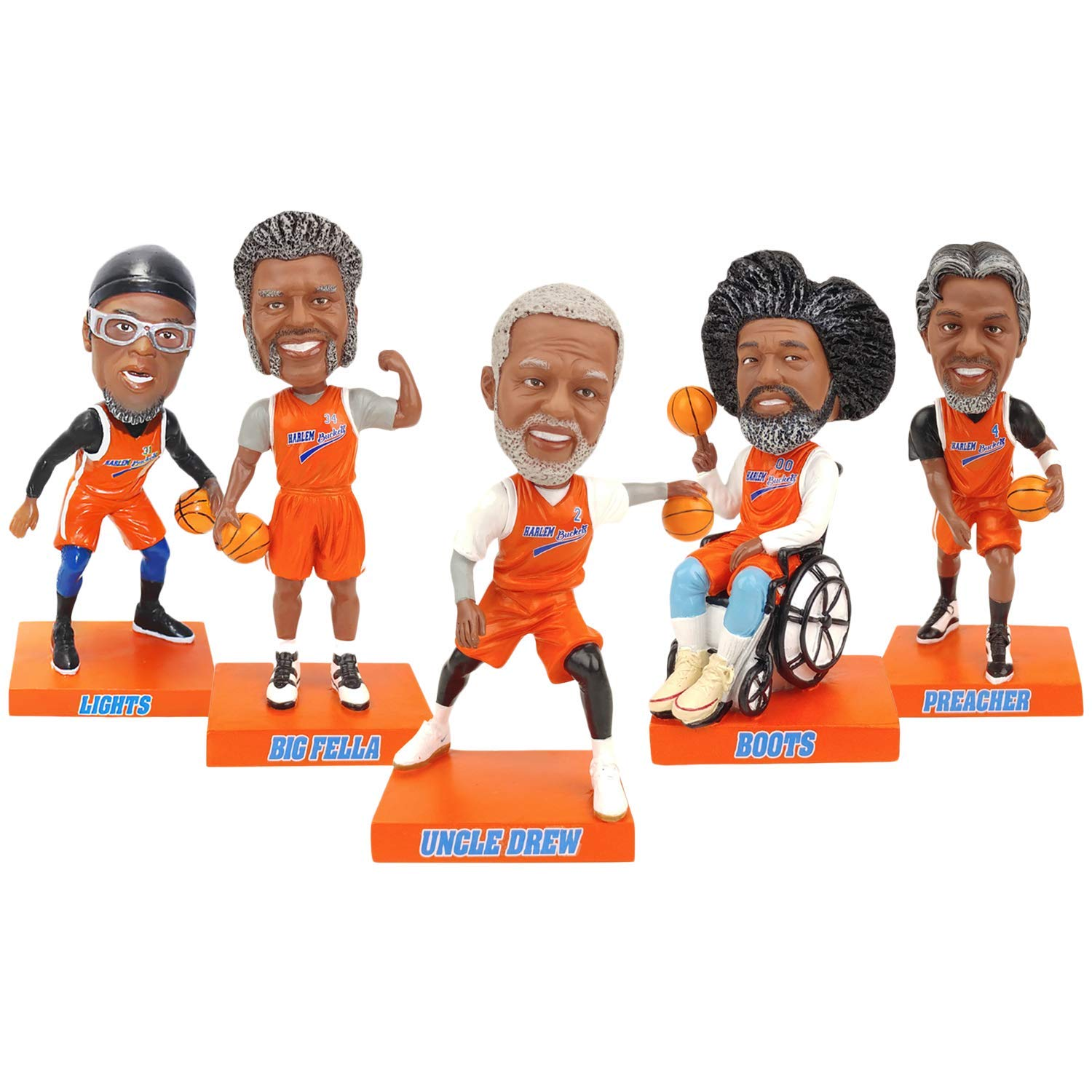Uncle Drew Movie Complete Set of 9 Bobbleheads