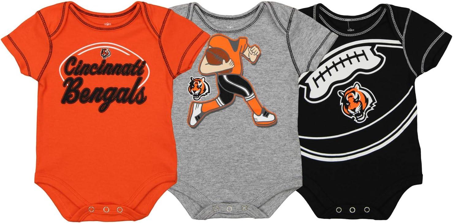Fuiyi Baby Soft Buffalo-Bills-Logo Long Sleeve Cotton Bodysuits