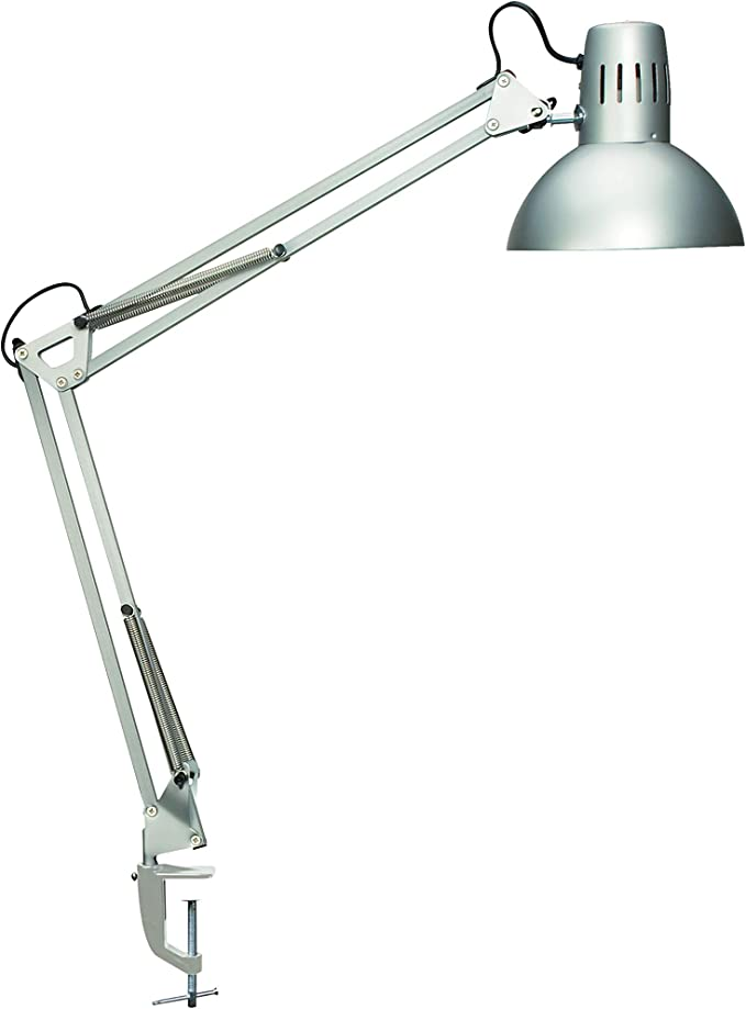 Design Klemmleuchte Metall, Schreibtischlampe MAULstudy Schwarz