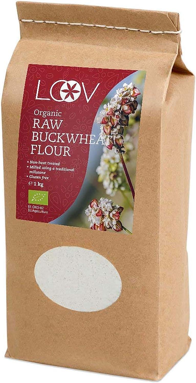 Harina de trigo sarraceno ecológico LOOV (1 kg)