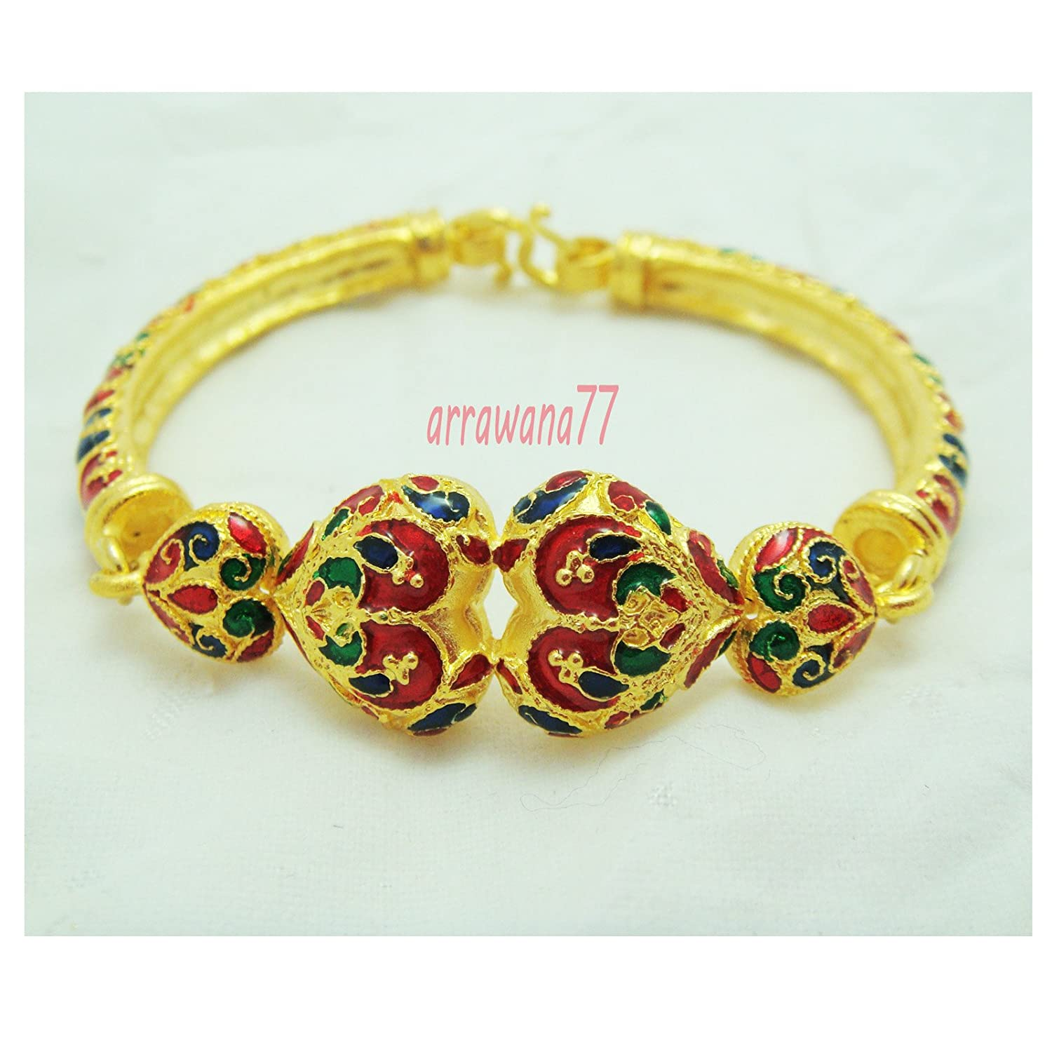 pin has bangles beautiful this sunflowers cream enamel created bangle been