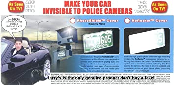 On Track Automotive Accessories ONTRACK Manufacturing Super Protector License Plate Cover