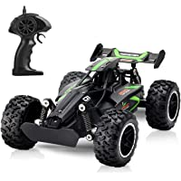 Tobeape High Speed RC Car, 1/18 Scale Remote Control Car, Racing Vehicle with 2.4Ghz, Radio Control Off-Road Vehicle Electric Car, RC Truck for Birthday Gifts