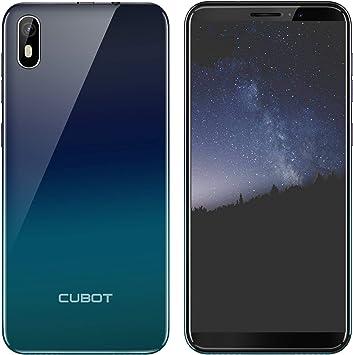 CUBOT J5 Teléfono Móvil Doble SIM Smartphone 5.5 Pulgadas Pantalla Táctil Capacitiva,Android 9.0 Operativo,16GROM,2800mAh Batería,Procesador Cuatro Núcleos,Identificación de Cara(Gradiente): Amazon.es: Electrónica