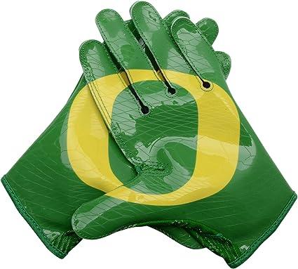 8c1abdb6 Oregon Ducks Team-Issued Green, Silver, and Yellow Nike Football ...