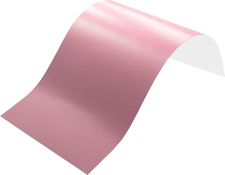 3,2€//m² Plotterfolie MATT 25 blass rosa 175 x 106cm  Möbel-Folie selbstklebend