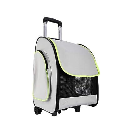 Amazon.com   Akinerri Pet Carrier Rolling Backpack Rolling Pet ... 02c9769316dff