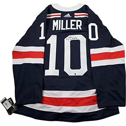 Image Unavailable. Image not available for. Color  JT Miller Signed New  York Rangers 2018 NHL Winter Classic Jersey 47300cc3a24