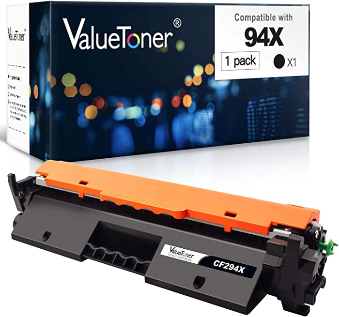 Valuetoner Compatible Toner Cartridge Replacement for HP 94X CF294X High Yield 94A CF294A to use with Laserjet Pro MFP M148dw, M148fdw, M118dw, Laserjet M148, M118 Printer, (Black, 1 Pack)