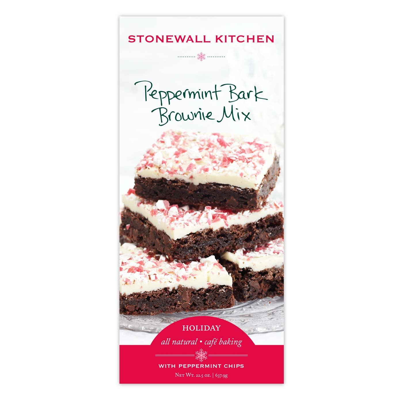 Stonewall Kitchen Chocolate Peppermint Brownie Mix