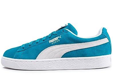 meilleur endroit pour meilleure sélection 2019 authentique Puma Suede Classic Bleu Turquoise Bleu 44: Amazon.fr ...
