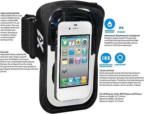 X1 Audio - Amphibx Fit Sport Armband, Color Black: Amazon.es ...