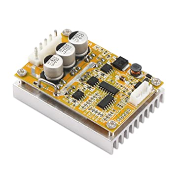 DROK® BLDC DC 5-36V Brushless Sensorless Motor Control Board Motor Driver  Regulator Monitor 350W High Power DC Motor Speed Controller Module with  Heat