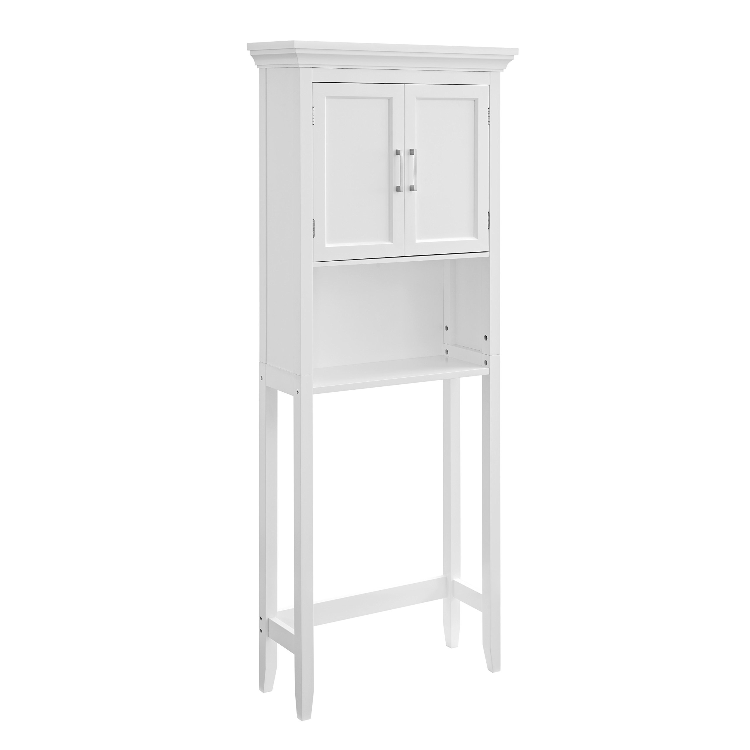 Simpli Home Avington Space Saver Cabinet, White