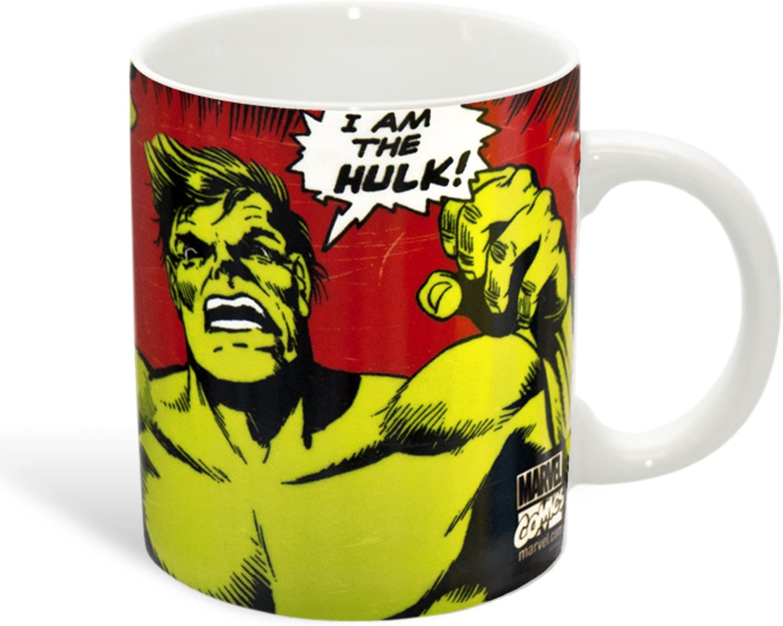 Marvel Comics - Hulk - taza - I Am The Hulk - se presenta en una caja de regalo: Amazon.es: Hogar
