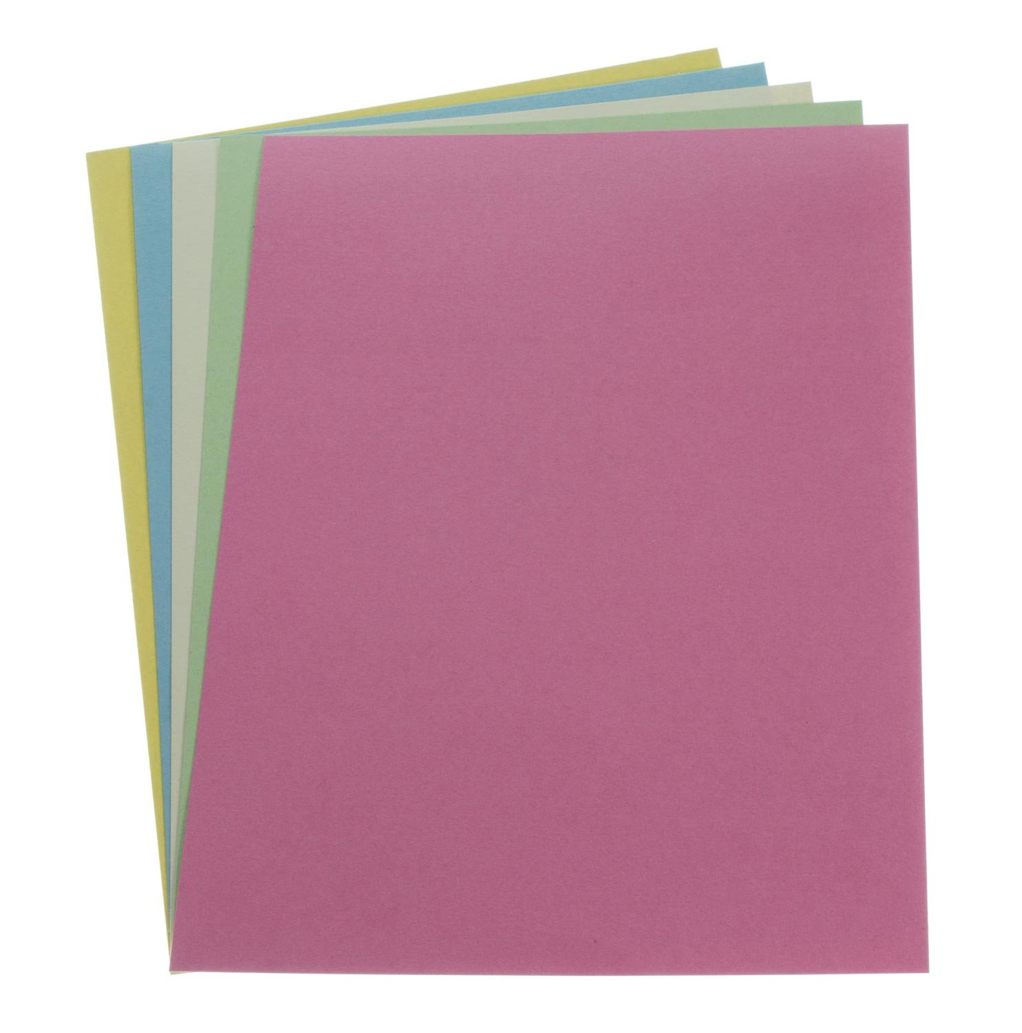Recycled Card 230mic A4 Assorted Pastel Colours Pk200 Higher Kings Mills Ltd
