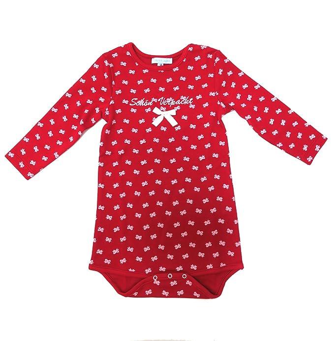 Louis & Louisa Chica Pelele Rojo Body para bebé con Texto en alemán schön se envía Rojo Rojo: Amazon.es: Ropa y accesorios