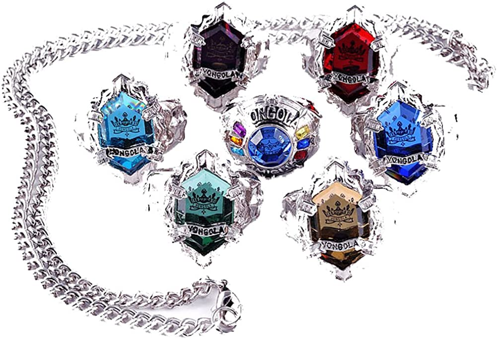 Amazon Com Touirch Anime Jewelry Hitman Reborn Vongola Ring