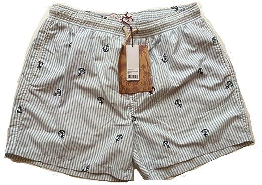 08b6a4ec8e Havacoa Mens Swim Shorts Surf Stripe Size Large W32: Amazon.co.uk: Clothing