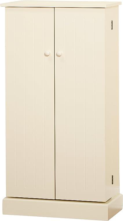 Target Marketing Systems Utility Pantry Wood Antique White One Size Amazon Co Uk Kitchen Home