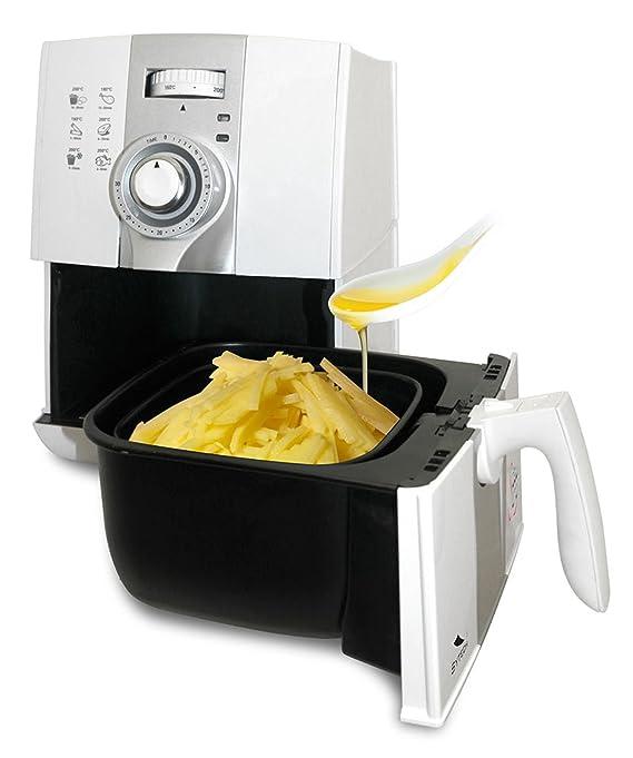 Freidora por Aire Caliente Delisano para Cocinar sin Aceite ...
