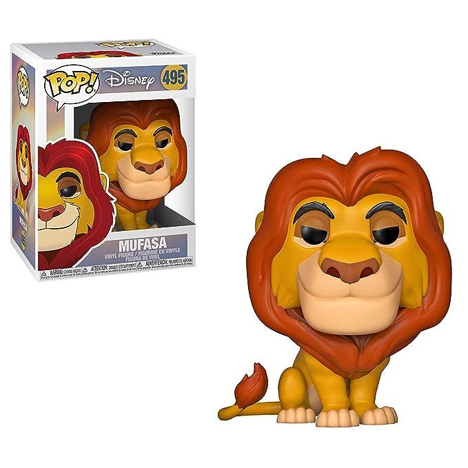 Amazon.com: Funko Pop. Juguete de Mufasa de Disney con ...