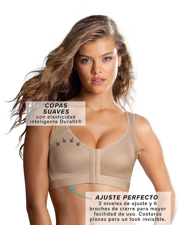 Leonisa Corrector de Espalda Sin Aro Camiseta Moldeadora para Mujer: Amazon.es: Ropa y accesorios