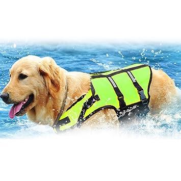 Chaleco reflectante para mascotas Warrah para aumentar la visibilidad, ajuste fácil, ajustable, para