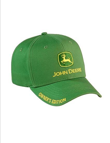 ad5536283839ce Amazon.com : NEW John Deere Green Twill Cap Hat Owner's Edition Nrld Jd  Logo : Everything Else