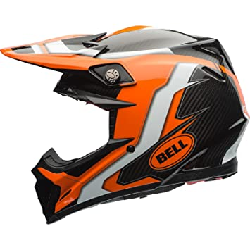 Bell Cascos MX 2017 Moto-9 Flex adultos casco, Factory, color naranja/