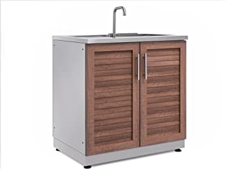 Outdoor Küche Edelstahl Zubehör : Newage 65601 produkte outdoor küche 81 3 cm waschbeckenunterschrank