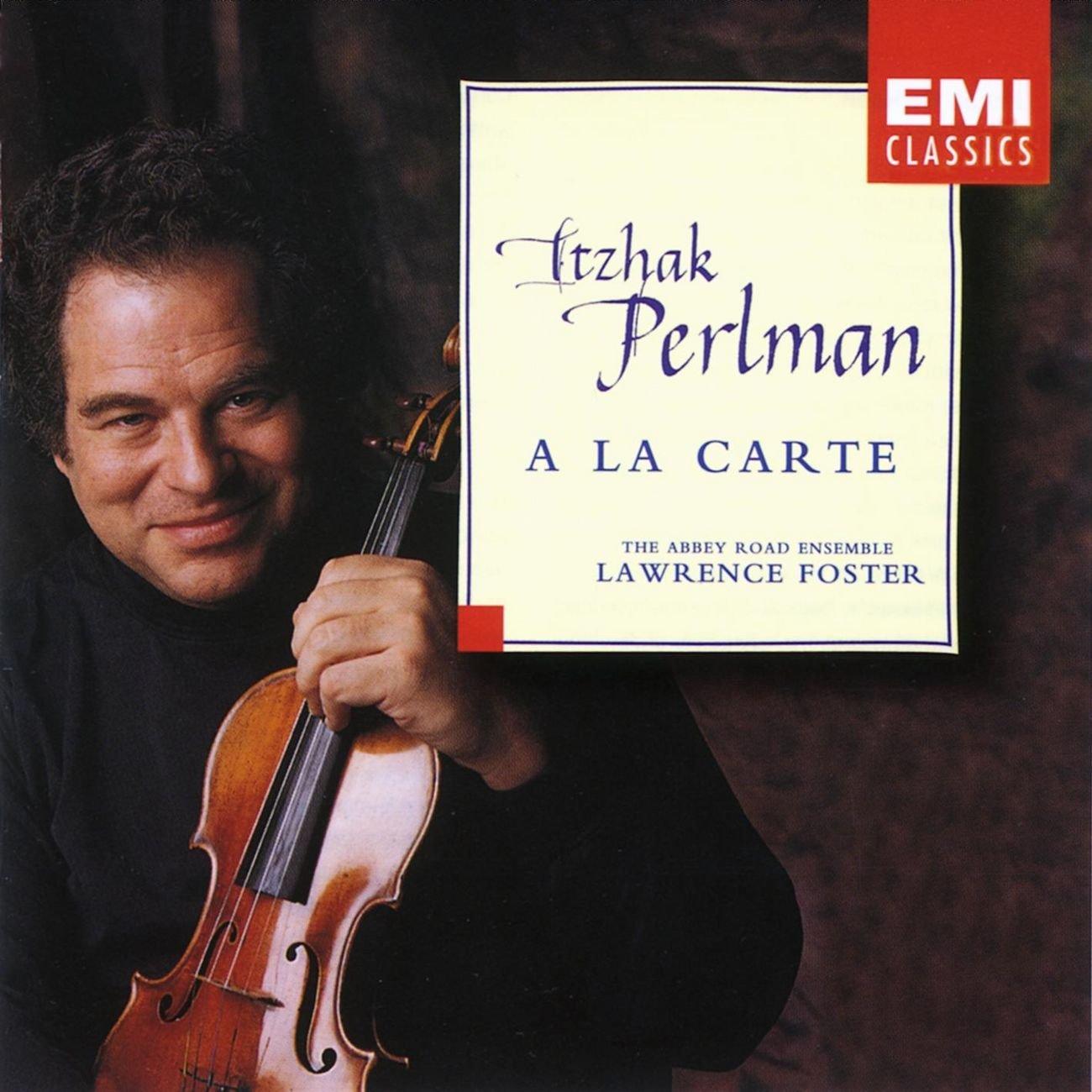 Itzhak Perlman - A la carte / Lawrence Foster by EMI Classics