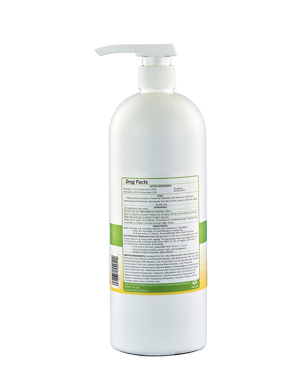 Broad Spectrum Protection Anti-Aging Moisturizer SPF 30 Sunscreen For Sensitive, Dry, Oily Skin Anti Wrinkle Product For Women Men – Reduce Aging Spots, Tighten Skin 1 Quart 32 Oz- 2 Pack