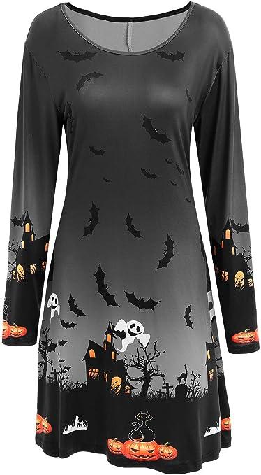 GXYCP Vístete para Halloween Disfraz De Calabaza para Mujer con ...