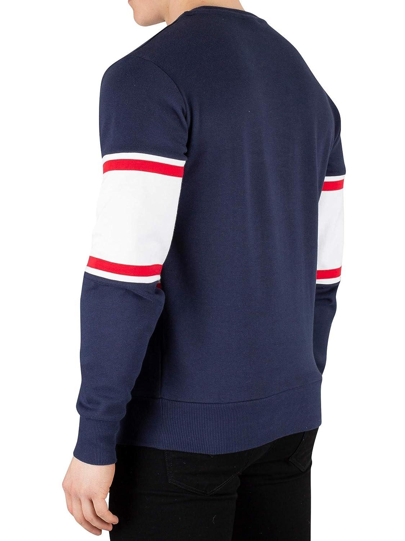 ellesse Sweater Herren ROLDA Sweatshirt Dunkelblau Navy